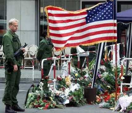911day photo tribute to victims of  attack on America September 11th, 2001